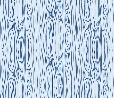 Wonky Wood - Blues fabric by jesseesuem on Spoonflower - custom fabric