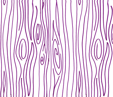 Wonky Wood - Purple