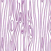 Wonky Wood - Purple