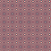 Checkers and dots tan-