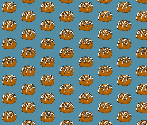 Cinnamon Roll fabric by pond_ripple on Spoonflower - custom fabric