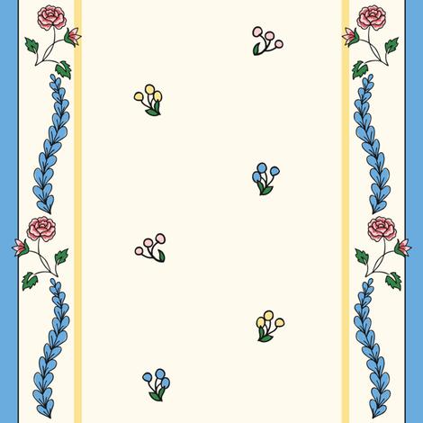 1770-1775 French Stripe fabric by americanduchess on Spoonflower - custom fabric