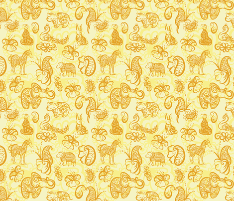 PaisleyOne2011 fabric by nikky on Spoonflower - custom fabric