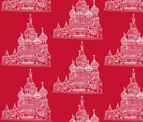 St Basil's fabric by blue_jacaranda on Spoonflower - custom fabric
