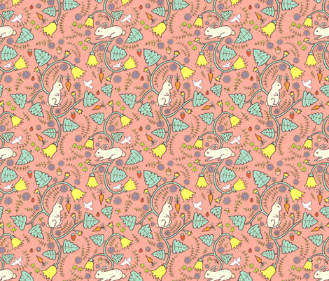 clover patch fabric by katherinecodega on Spoonflower - custom fabric