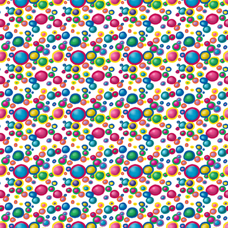 DigitalDots fabric by tallulahdahling on Spoonflower - custom fabric