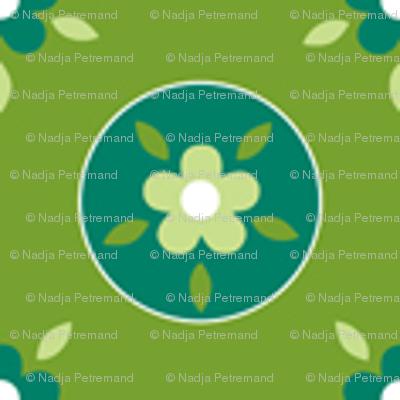 fleurette_cerclé_vert_anis