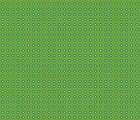fleurette_cerclé_vert_anis fabric by nadja_petremand on Spoonflower - custom fabric