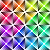 harlequin palette