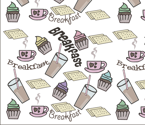 breakfast fabric by julianajfonseca on Spoonflower - custom fabric