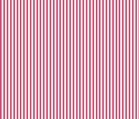 Nautical Stripe in Pink fabric by sophiebenoit on Spoonflower - custom fabric