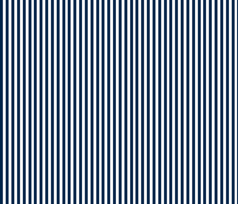 Nautical Stripe in Navy fabric by sophiebenoit on Spoonflower - custom fabric
