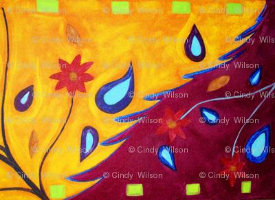 Summer Fantasy Design by Cindy Wilson