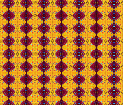 Summer Fantasy Design by Cindy Wilson fabric by cindywilsonart on Spoonflower - custom fabric