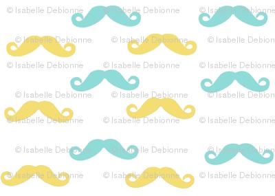 Baby boy mustaches