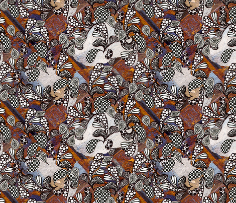 Wild Wild Paisley fabric by brekas on Spoonflower - custom fabric