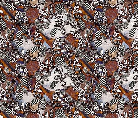 Wild Wild Paisley fabric by brekas on Spoonflower - custom fabric
