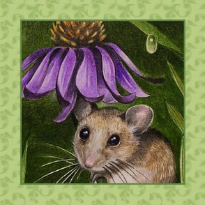 Cone Flower Mouse