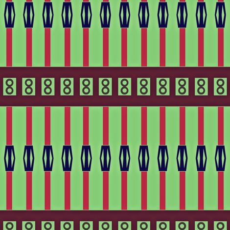 Straw Lantern Stripes fabric by boris_thumbkin on Spoonflower - custom fabric