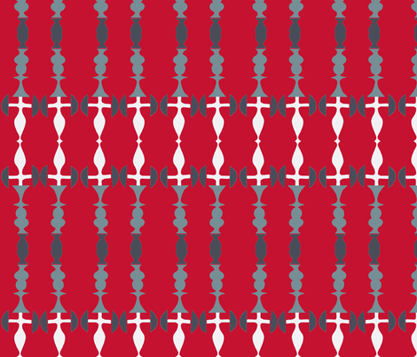 Candlestick Stripes fabric by boris_thumbkin on Spoonflower - custom fabric