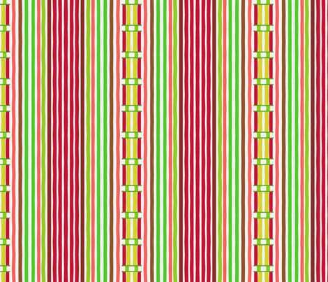 Laced Candy Stripes fabric by boris_thumbkin on Spoonflower - custom fabric