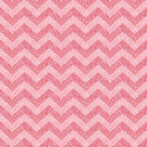 Glitter Chevron Pink on Pink
