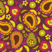 Paisley Fruit Salad