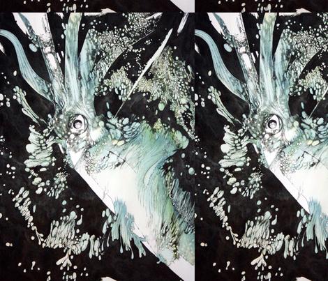 blue_squid fabric by sem on Spoonflower - custom fabric
