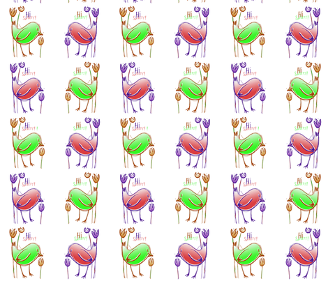 Hi Sweety ! 3 fabric by tissi76 on Spoonflower - custom fabric