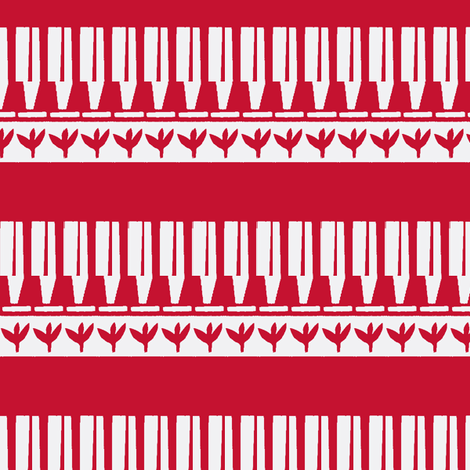 The White Stripes fabric by boris_thumbkin on Spoonflower - custom fabric