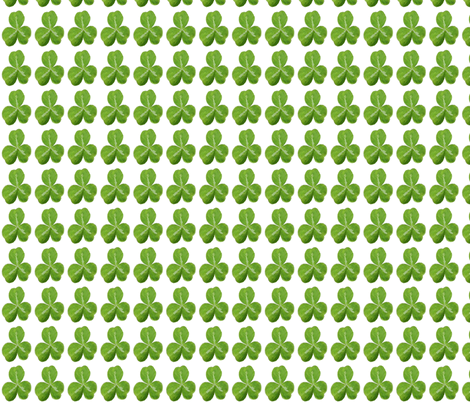 Little Shamrock fabric by nezumiworld on Spoonflower - custom fabric