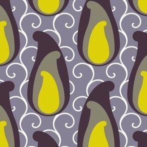 layered paisley + spirals