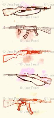guns- cream
