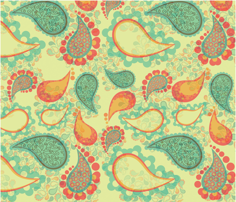 Passionate about Paisley fabric by pdplumamy on Spoonflower - custom fabric