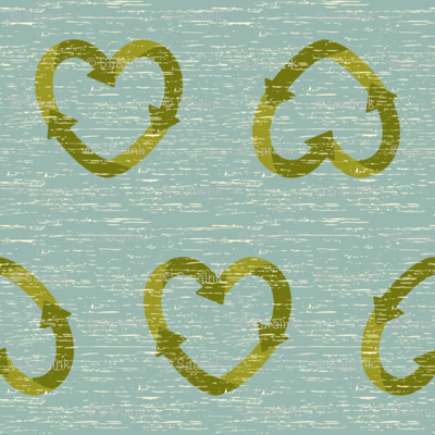Reduce Reuse and Recycle Hearts