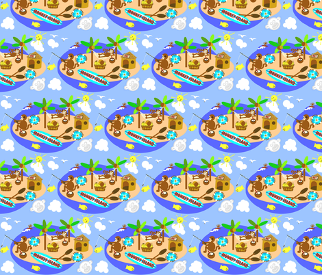 monkey island  fabric by paragonstudios on Spoonflower - custom fabric
