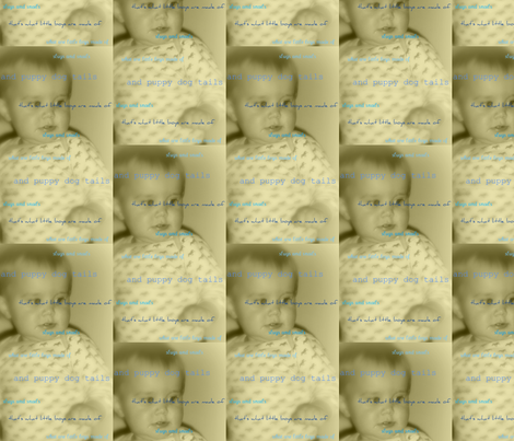 little boy fabric by 7monsters_t_inc on Spoonflower - custom fabric