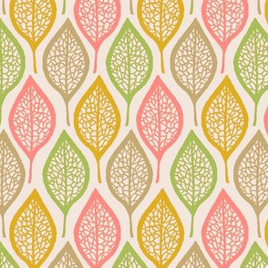 Skeleton Leaves - Pastel
