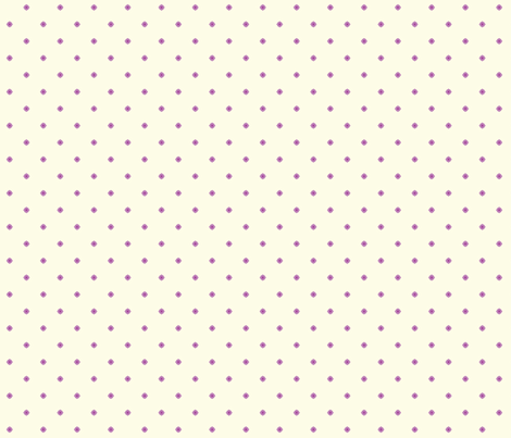 Dot Floral - Victorian Violet fabric by inscribed_here on Spoonflower - custom fabric