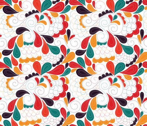 paisley carnavalesque fabric by made_in_shina on Spoonflower - custom fabric