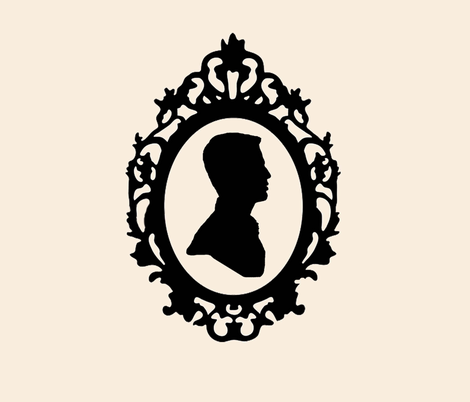 Victorian Man Silhouette Victorian Silhouette Man