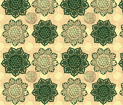 Celtic Knots fabric by nikky on Spoonflower - custom fabric