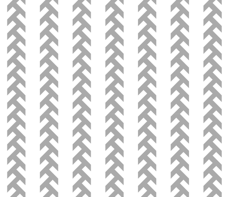 Tractor Tracks - grey fabric by newmom on Spoonflower - custom fabric