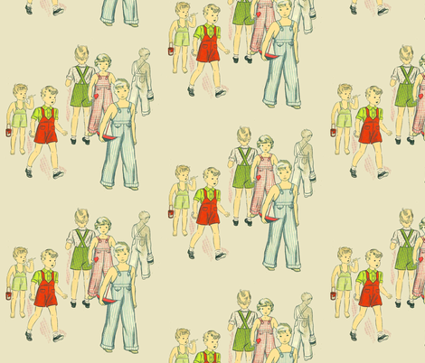 Ghost Child fabric by nalo_hopkinson on Spoonflower - custom fabric