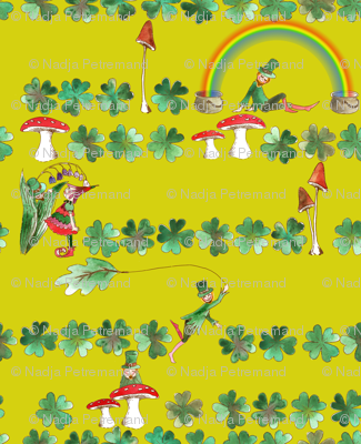 Leprechaun_fantaisy_vert