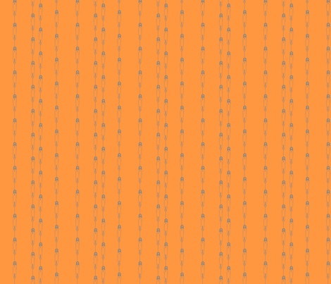 DiaperPinstripes-Orange fabric by tammikins on Spoonflower - custom fabric