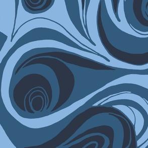 Vento in the 'Aqua Blue'  Color Way