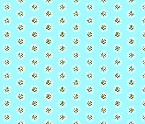 Dandy Puff fabric by nightgarden on Spoonflower - custom fabric