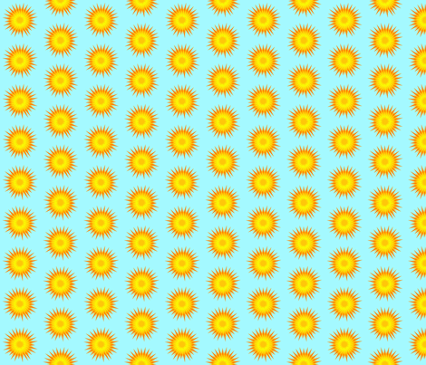 Dandy Burst fabric by nightgarden on Spoonflower - custom fabric