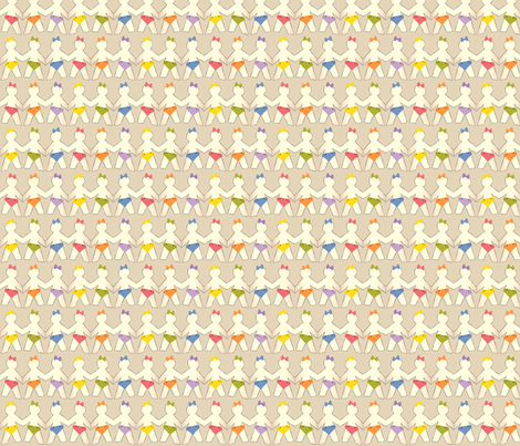 YouGoGirlGoGirl fabric by tammikins on Spoonflower - custom fabric